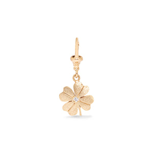 Charm clover diamond