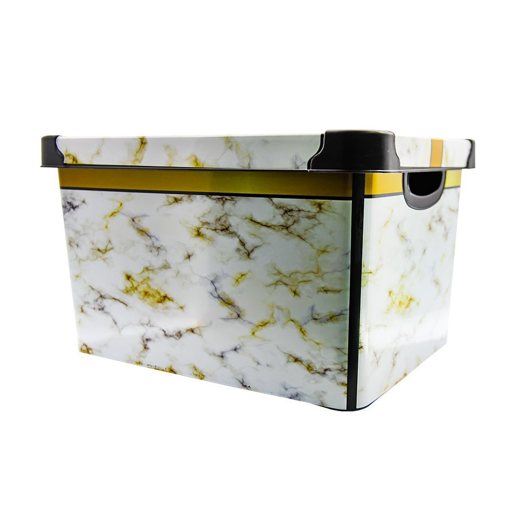 VIOLETHOUSE DECORATED STORAGE BOX 20LT