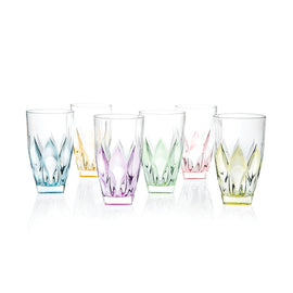 NIPHEA SET PCS HB TUMBLERS COLOUR-RCR TRENDS - 25572020006