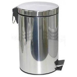 METAL DUST BIN WITH PADEL 20LT