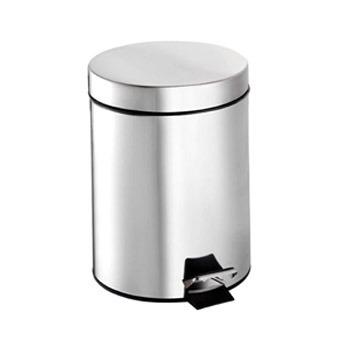 METAL DUST BIN WITH PADEL 30LT