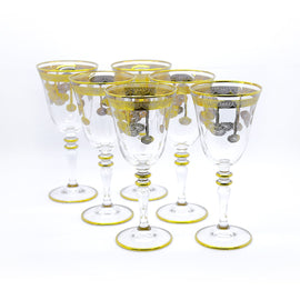 6 PCS FRUIT GLASS SET