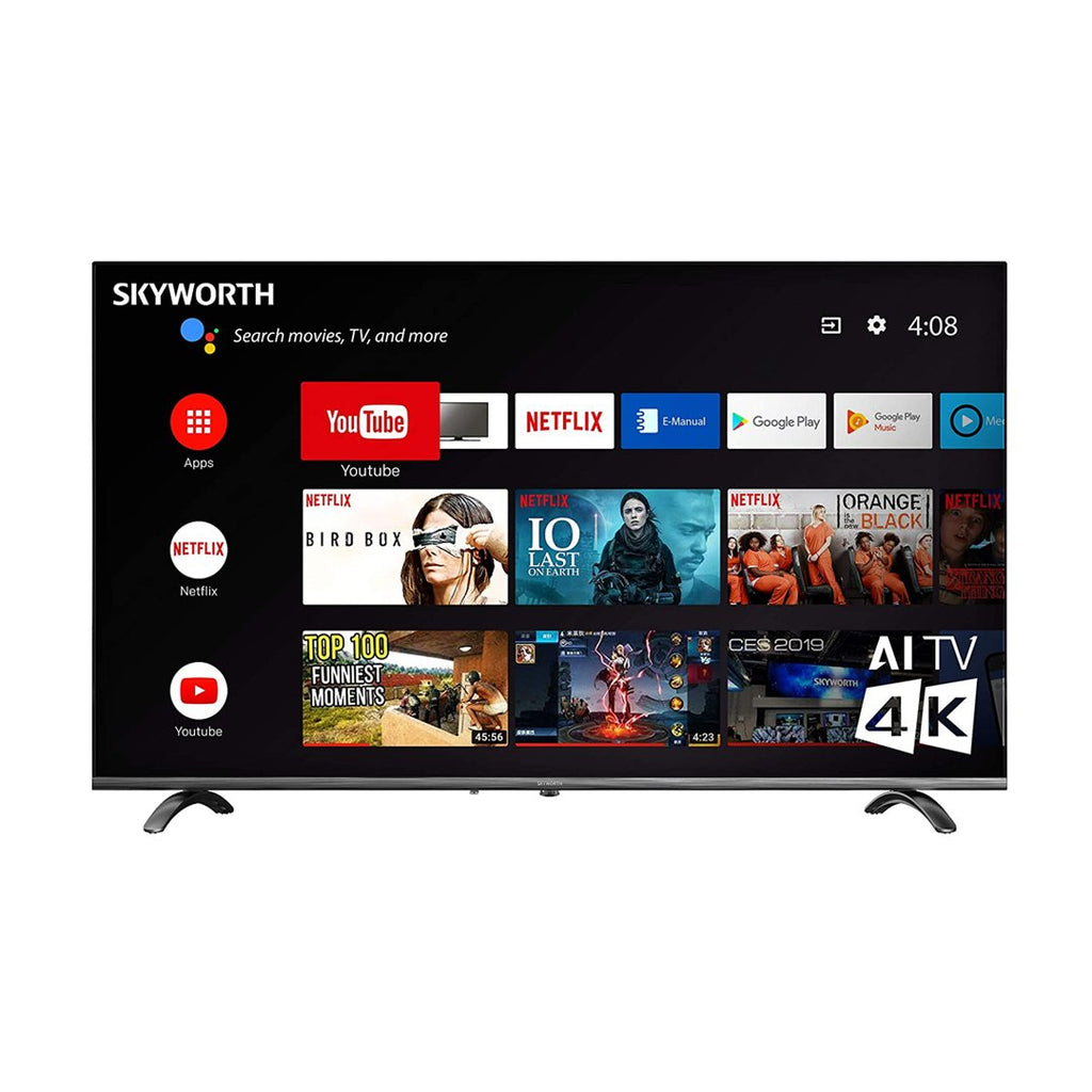 "SKYWORTH 55"" SMART UHD ANDROID TV   55UC5500"