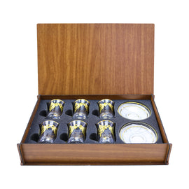 TEA SET WOODEN BOX 62561K-ITL1
