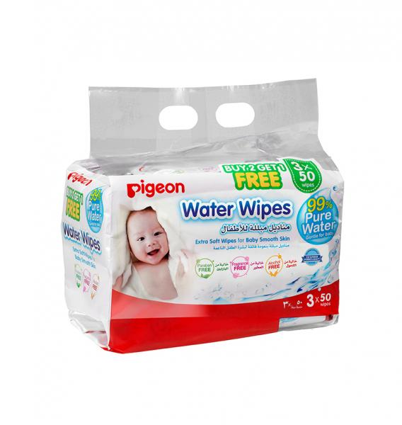 PIGEON BABY WIPES 3+1