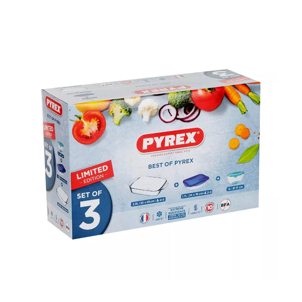 Pyrex - Best of Pyrex Box 3pcs 913S107