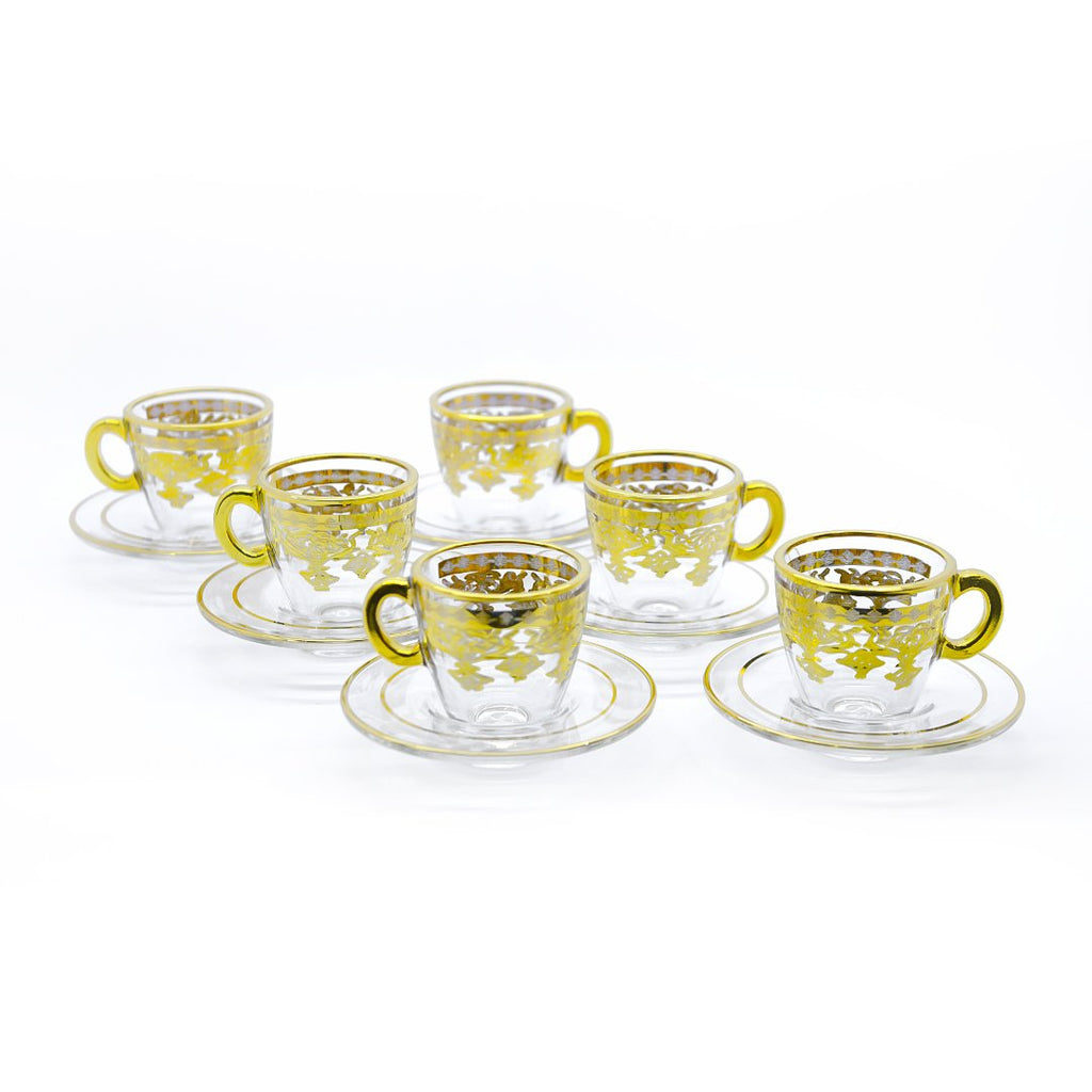 6 PCS TURKISH COFFEE SET