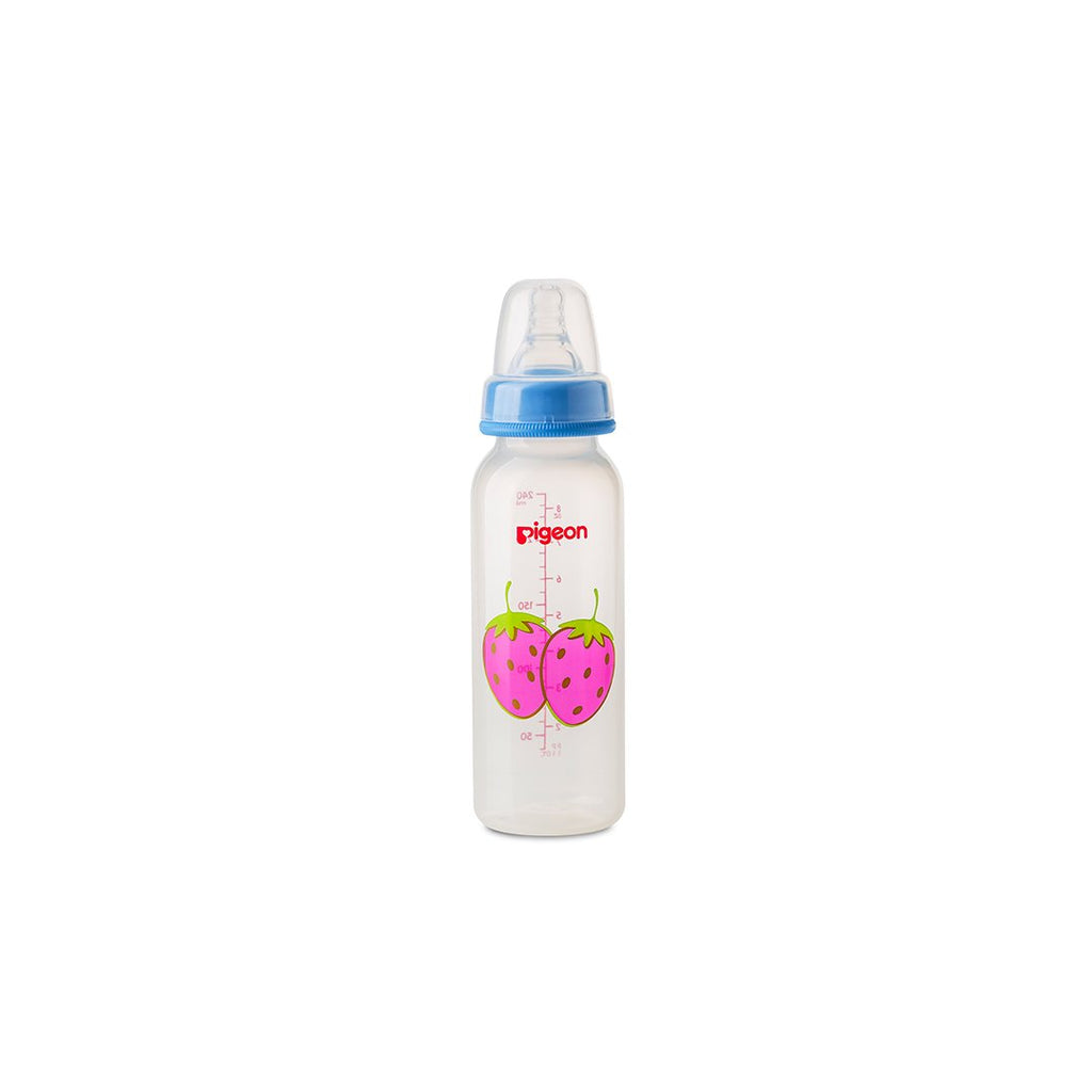 PIGEON  DECORATED BOTTLE 240ML FRUIT
