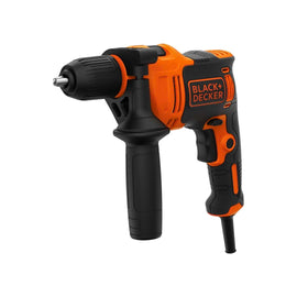 BLACK+DECKER 550W CORDED DRILL   BEH550-GB