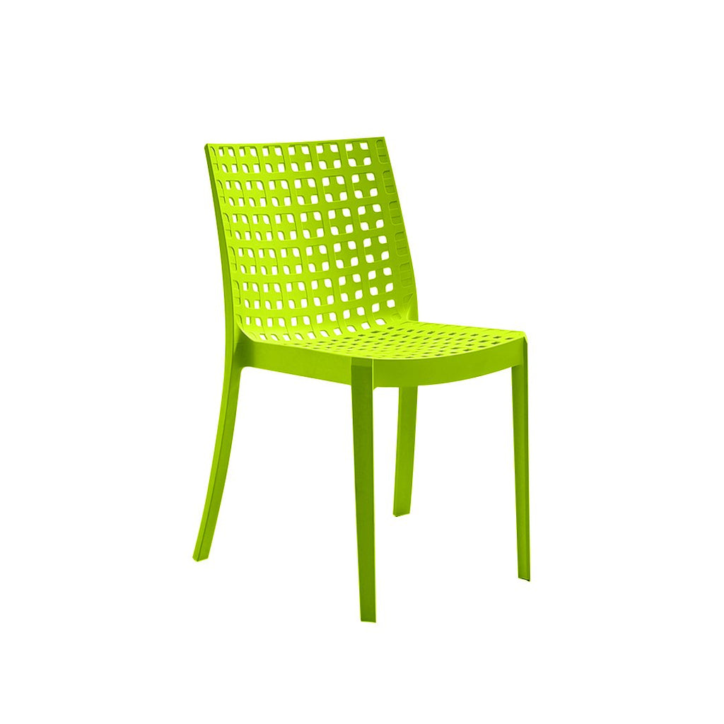 BICA KELLY RESIN MONOB. CHAIR GREEN