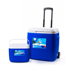 GINT COOLER BOX WITH WHEEL 5L+18L 2PCS SET