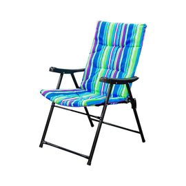 ALM LUXURY CAMPING CHAIR STRIP COLOR   CK-ALM105