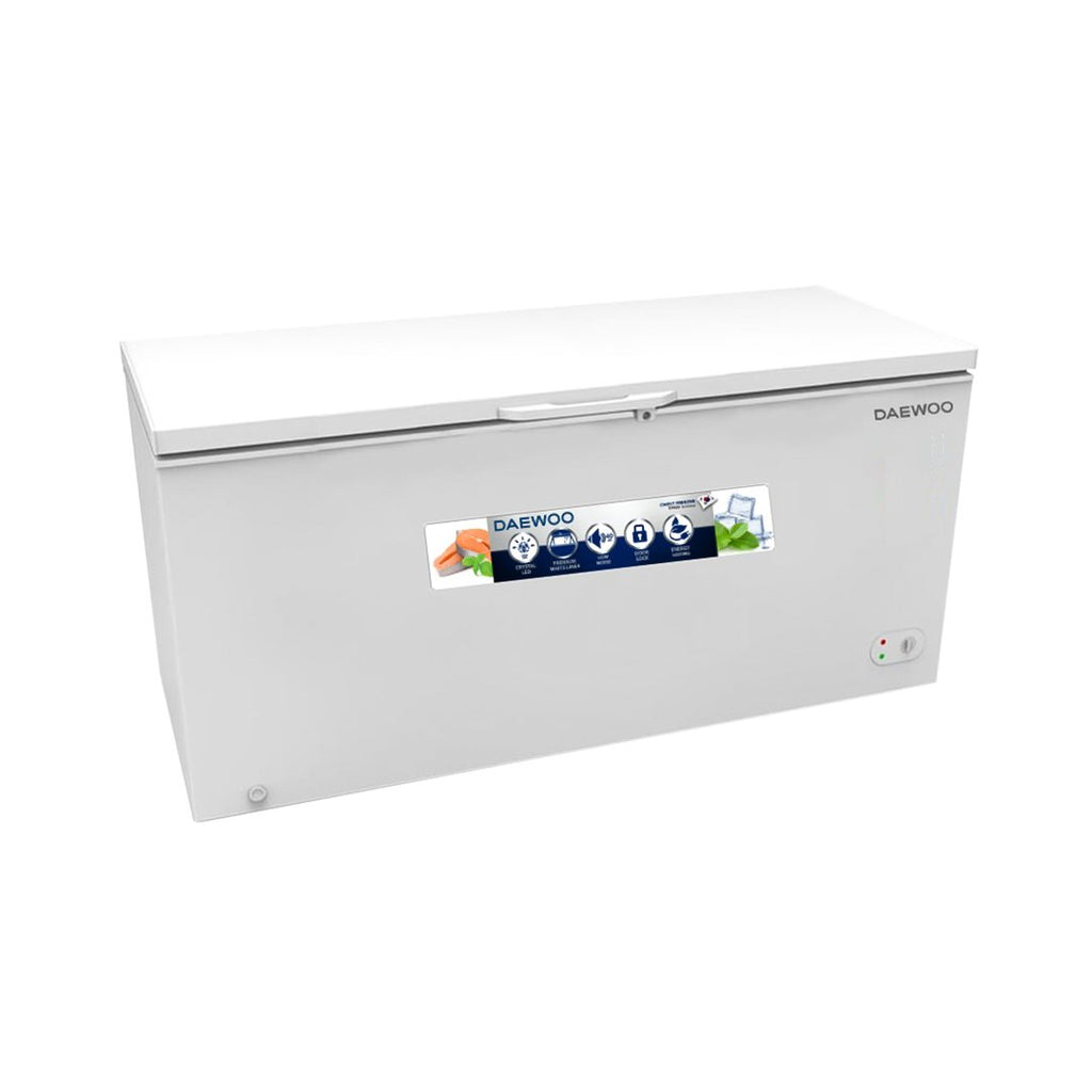 DAEWOO CHEST FREEZER 610L WHITE  DCF-M610
