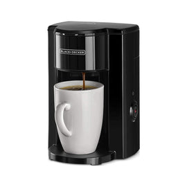 B+D 1 CUP COFFEE MAKER WITH CERAMIC CUP   DCM25N-B5