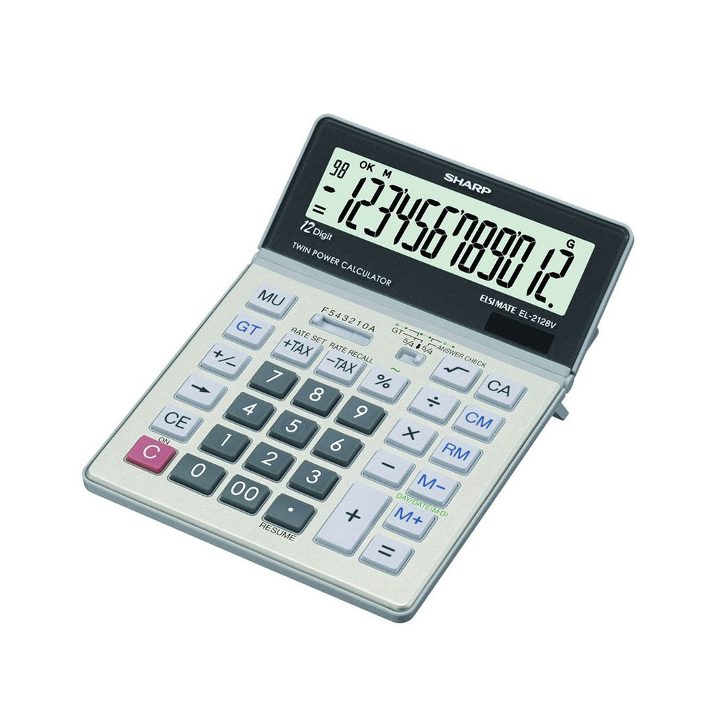 Sharp Desktop Calculator EL-2128V