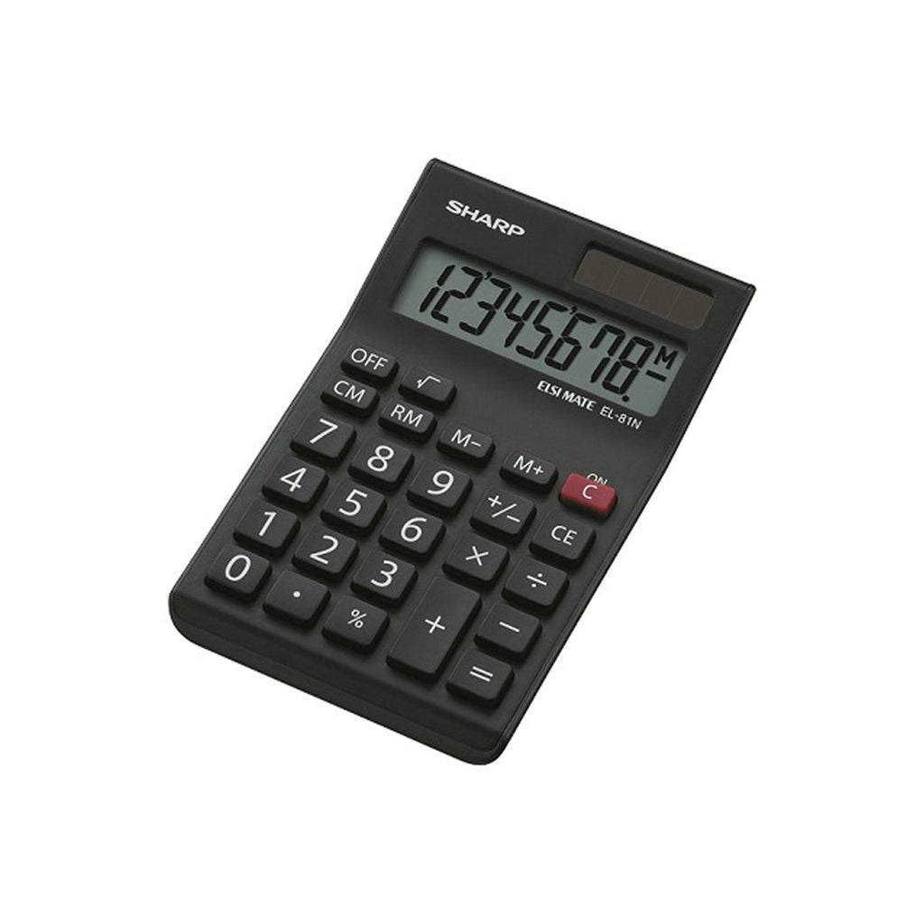 Sharp Desktop Calculator EL-81N-BK