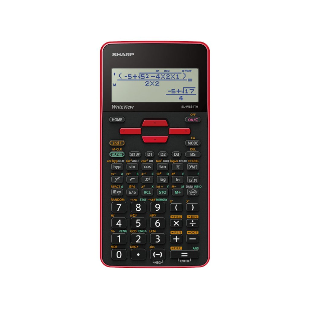 Sharp Scientific Calculator EL-W531TH-RD