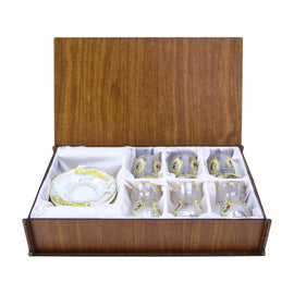 TEA SET WOODEN BOX ES-42491K