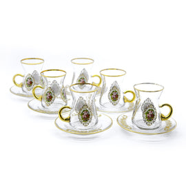 ENES TEA SET GOLD