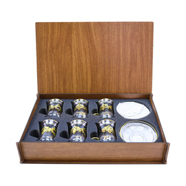 TEA SET WOODEN BOX ES54201-BRD2