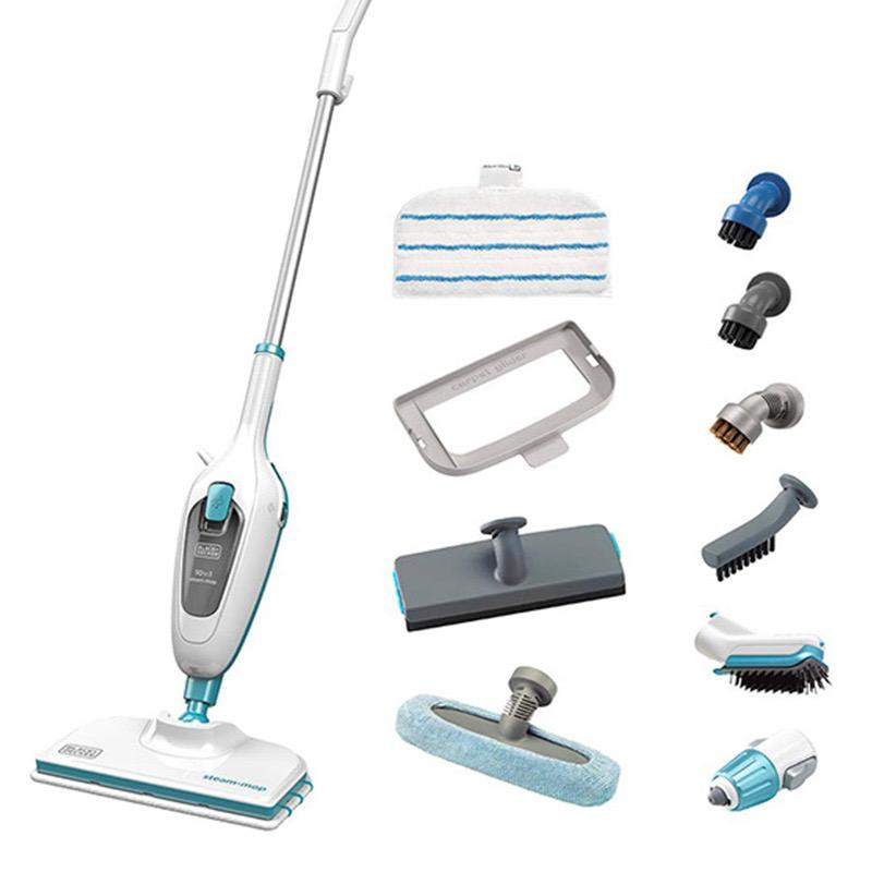 BLACK+DECKER 1300W 10IN1 STEAM MOP   FSMH13E10-B5