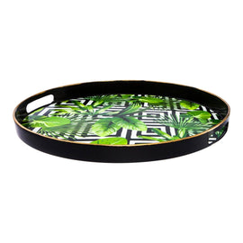 AUTHENTIC BLACK GOLD TRAY BIG 30*44