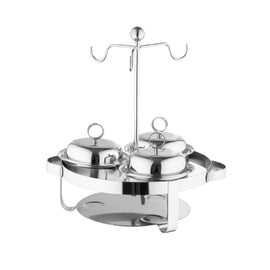 MINI CHAFER SERVING SET SS FINISH (47X40X30)CM MSD-75001