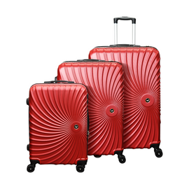 ALM HARD TROLLEY LUGGAGE 20'' 24'' 28CM 3PCS SET