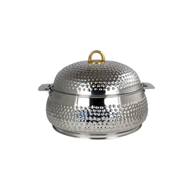 NEW KING BELLY HOTPOT W/MILANO SILVER 3000ML