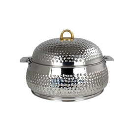 NEW KING BELLY HOTPOT W/MILANO SILVER 4000ML