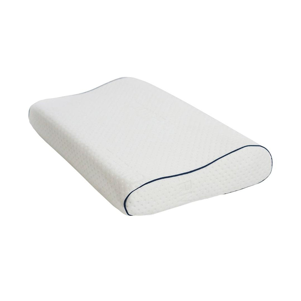 VISCOTEX AIR ORTHOPEDIC PILLOW WITH GREEN PIPING 60X43X14/12CM VOE97