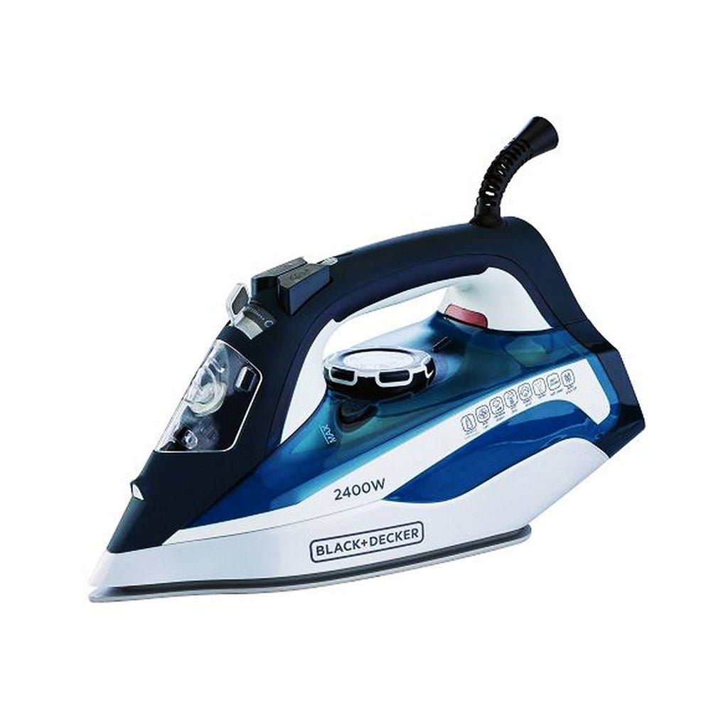 BD  STEAM IRON CEREMIC PLATE 2400 WATTS  X2150-B5