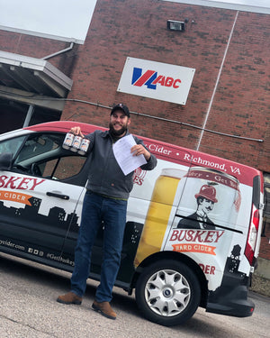 Buskey Cider Launches Delivery Service to Deliver Cider to Keep Team Employed During Pandemic