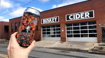 Buskey Cider Releases Spring Seasonal, Peach Tea Cider