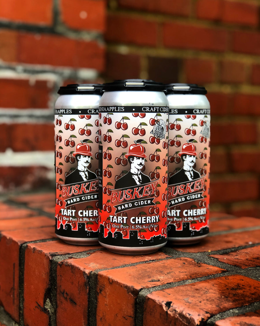 Buskey Tart Cherry Cider (4-pack)