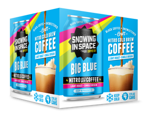 Snowing In Space Big Blue Nitro Cold Brew Coffee