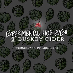 Table + Flight at Experimental Hops Event on Wed, 9/30