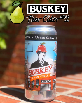 Buskey Pear Cider Test #1 - 32oz Crowler