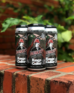 Buskey Kings Cider (4-Pack)