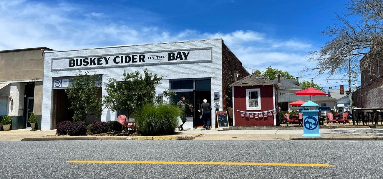 Buskey Cider on the Bay in Cape Charles
