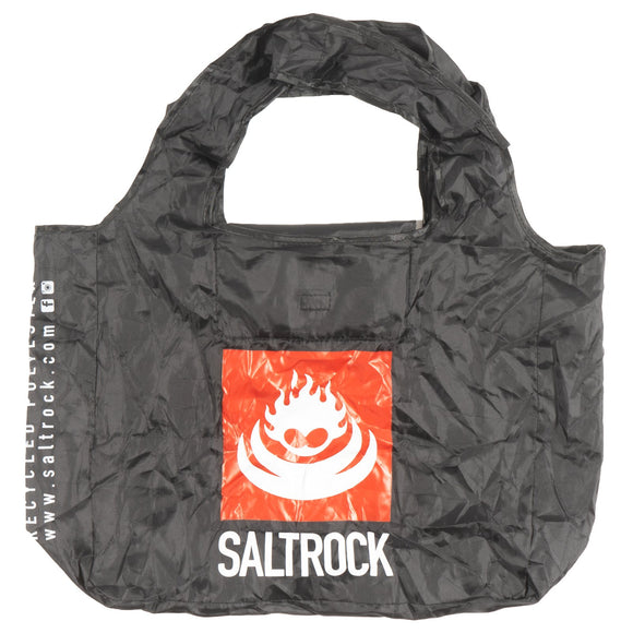Recycled Fold Away Shopping Bag - Black