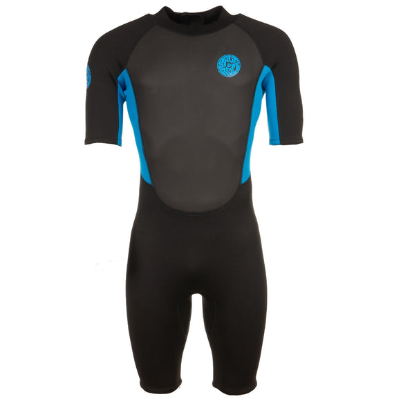 Core - Men's 3/2 Shortie Wetsuit - Blue