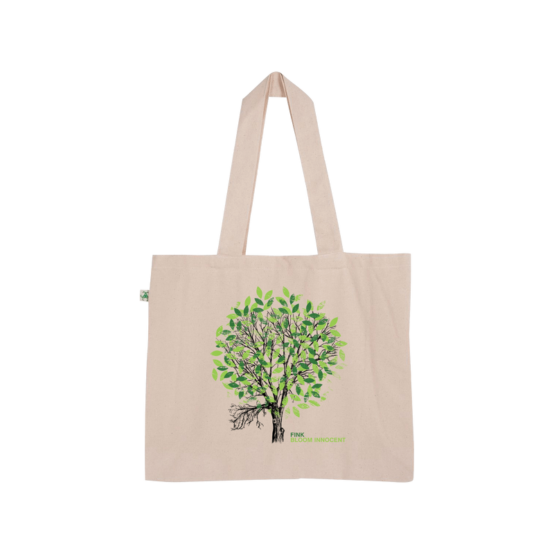 Bloom Innocent Tote (Green Print)