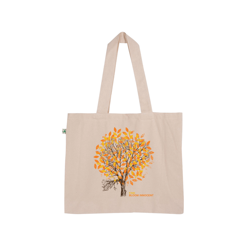 Bloom Innocent Tote (Orange Print)