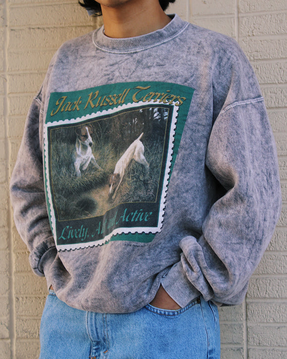Vintage '90s Dog Dad Sweatshirt