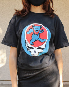 Grateful Dead Bear Skull T-Shirt (New)