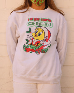 Vintage Tweety Bird Christmas Sweater