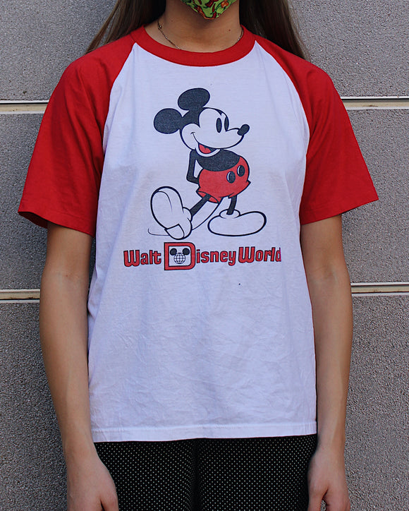 Vintage Mickey Mouse Baseball T-Shirt