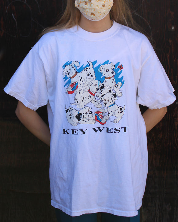 Key West 101 Dalmatians T-Shirt (Recycled)