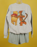 Tigger and Pooh Crew Neck Sweatshirt